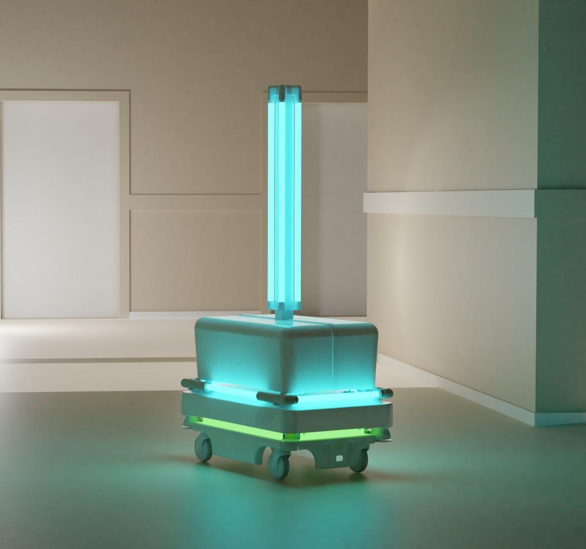 Viktor Čistič UV-C dezinfekční robot