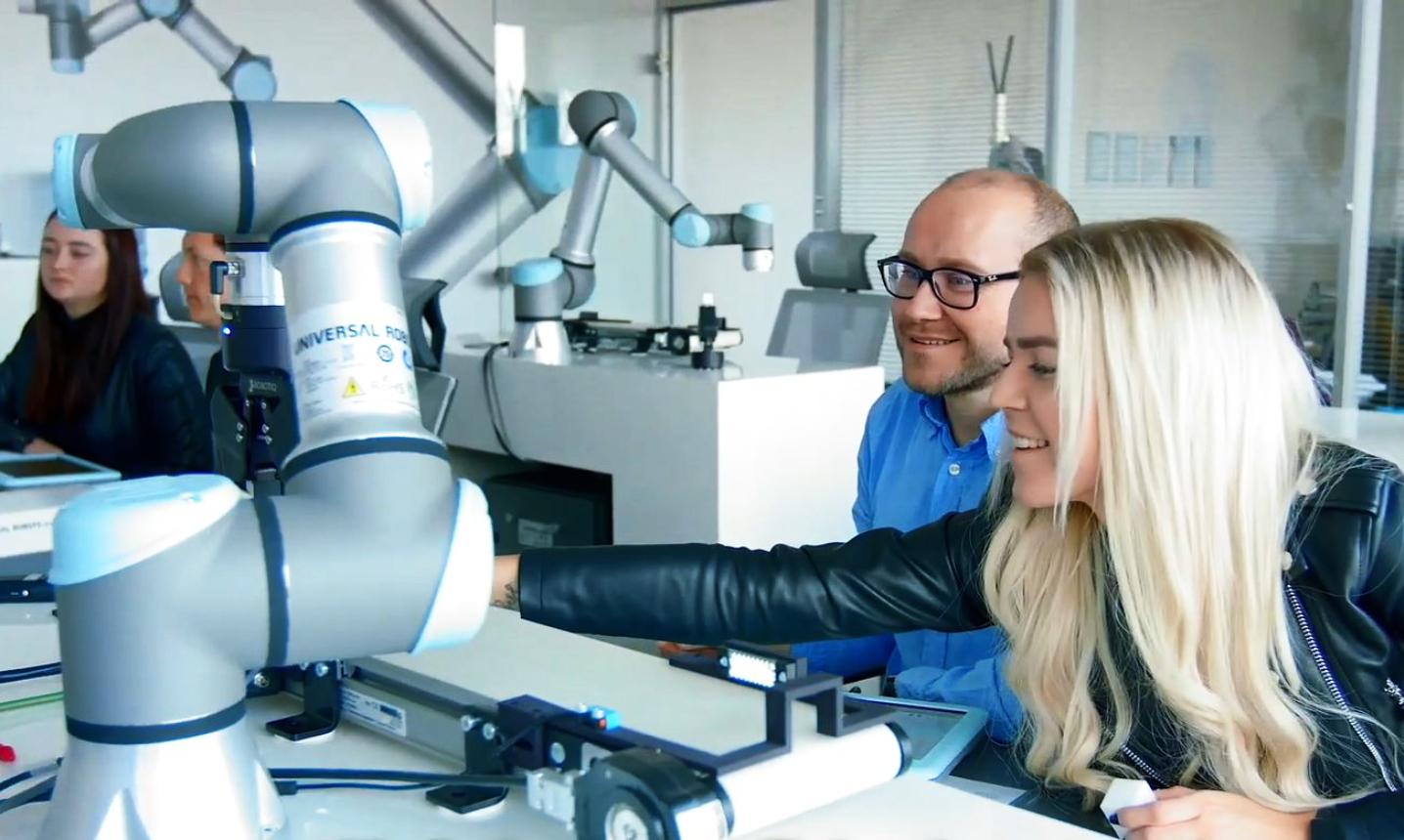 Autorizované školicí centrum Universal Robots